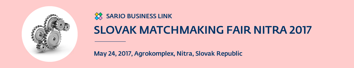 Slovak Matchmaking Fair Nitra 2017
